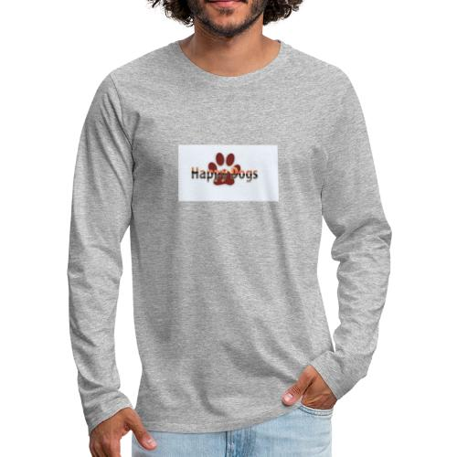 Happy dogs - Männer Premium Langarmshirt