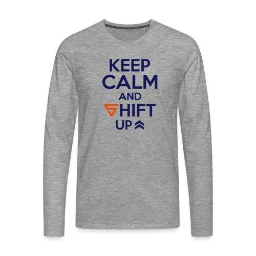 Shift UP ! - T-shirt manches longues Premium Homme