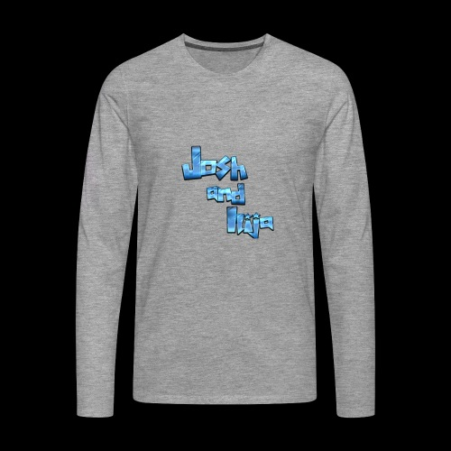 Josh and Ilija - Men's Premium Longsleeve Shirt