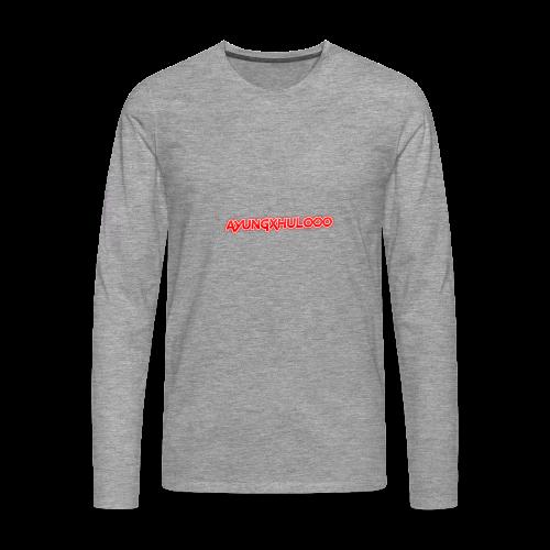 AYungXhulooo - Neon Redd - Men's Premium Longsleeve Shirt