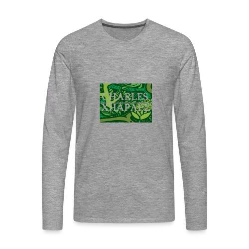 CHARLES CHARLES JUNGLE PRINT - LIMITED EDITION - Men's Premium Longsleeve Shirt