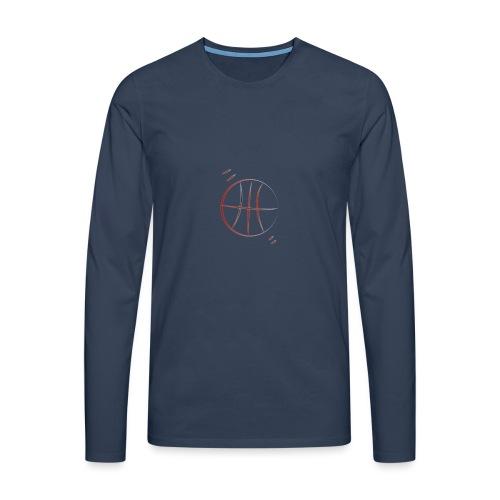 basket - Maglietta Premium a manica lunga da uomo