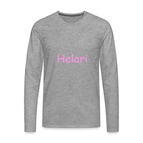 Helari Merch - Miesten premium pitkähihainen t-paita