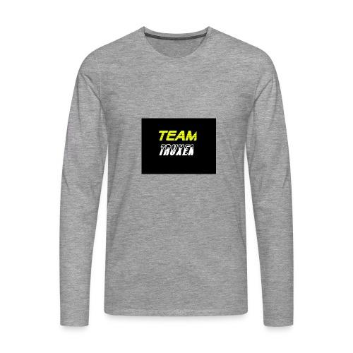 Truxenmerch - Långärmad premium-T-shirt herr