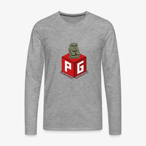 Preikestolen Gamers - Premium langermet T-skjorte for menn