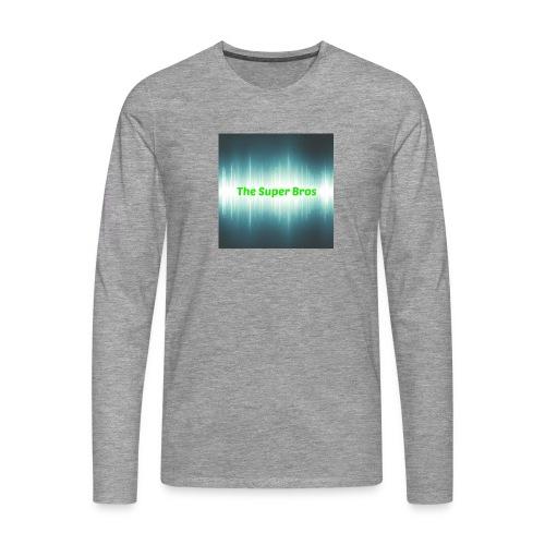 The Super Bros - Fan Bamse - Herre premium T-shirt med lange ærmer