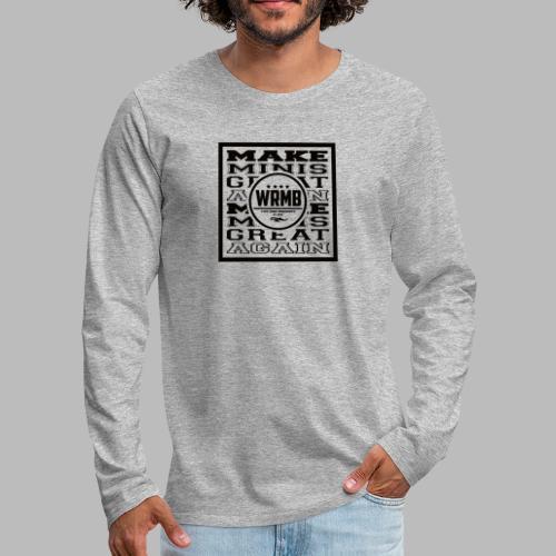 Montée MMGA - T-shirt manches longues Premium Homme