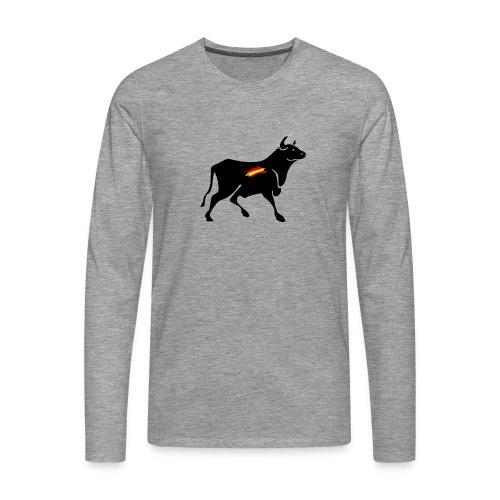 toro español - Camiseta de manga larga premium hombre