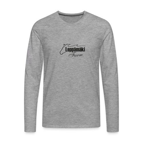 leppis - Miesten premium pitkähihainen t-paita