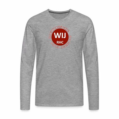 RIJSWIJKSCHE HOCKEY CLUB - Mannen Premium shirt met lange mouwen