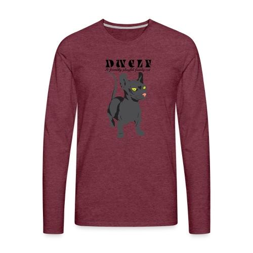 DWELF - Miesten premium pitkähihainen t-paita