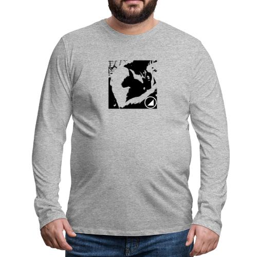 BULGEBULLFSE2 - Camiseta de manga larga premium hombre