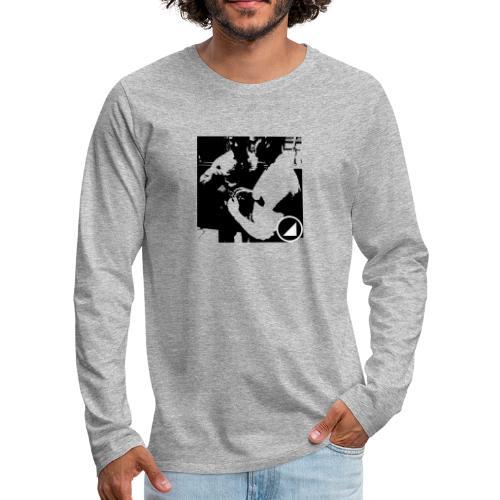 BULGEBULLFSE4 - Camiseta de manga larga premium hombre