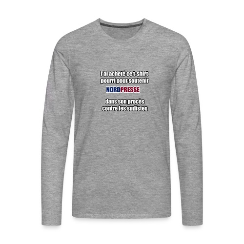 nordpresse - T-shirt manches longues Premium Homme