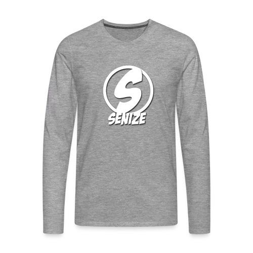 Senize - Mannen Premium shirt met lange mouwen
