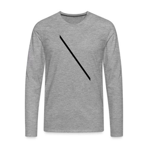 Minimale-Diagonale - Men's Premium Longsleeve Shirt