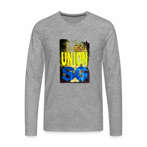 UNION SG - Mannen Premium shirt met lange mouwen