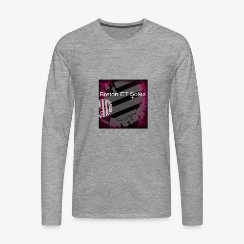breton - T-shirt manches longues Premium Homme