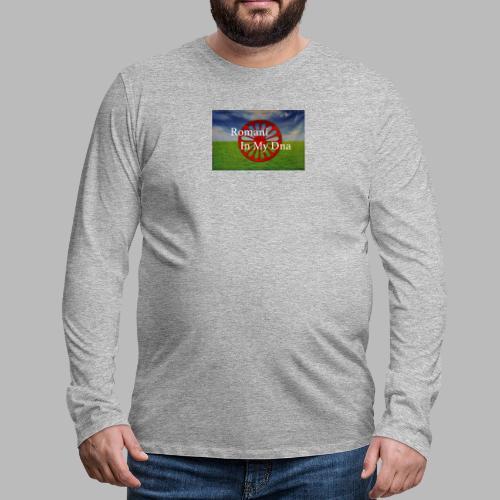 flagromaniinmydna - Långärmad premium-T-shirt herr