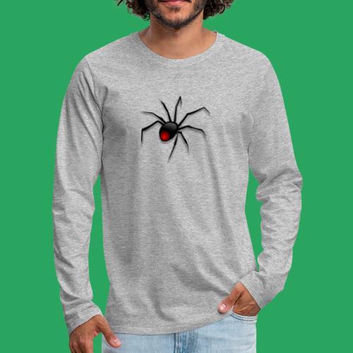 spider logo fantasy - Maglietta Premium a manica lunga da uomo