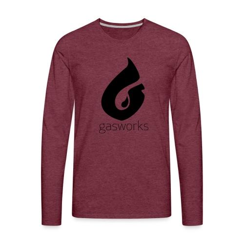 Gasworks Logo Tee - Men's Premium Longsleeve Shirt
