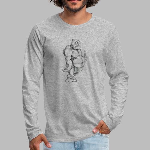 Big man - Männer Premium Langarmshirt