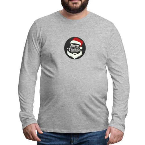 Merry Christmas - Men's Premium Longsleeve Shirt