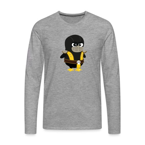 Pingouin Mortal Scorpion - T-shirt manches longues Premium Homme