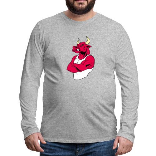 adhex toro - Camiseta de manga larga premium hombre
