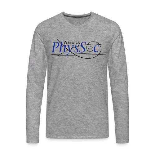 Official Warwick PhysSoc T Shirt - Men's Premium Longsleeve Shirt