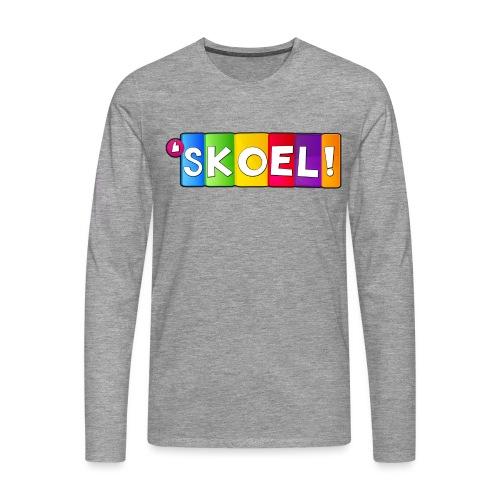 SKOEL merchandise - Mannen Premium shirt met lange mouwen