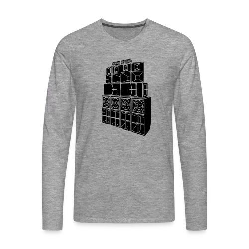 soundsystem - Männer Premium Langarmshirt
