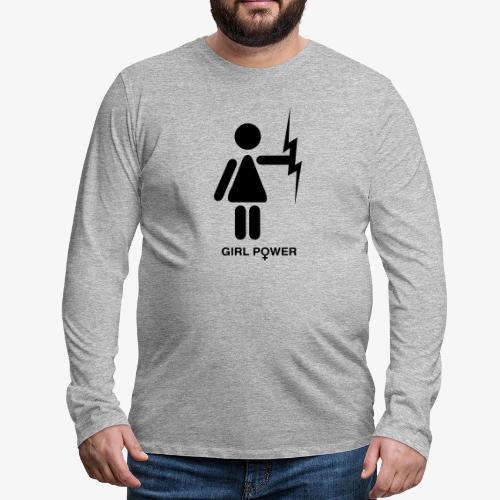 GP - Koszulka męska Premium z długim rękawem