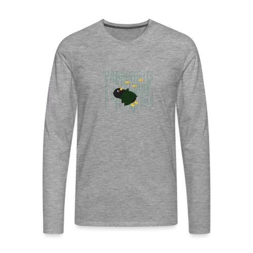 Pingouin Bullet Time - T-shirt manches longues Premium Homme