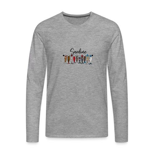 Sardine colorate - Maglietta Premium a manica lunga da uomo