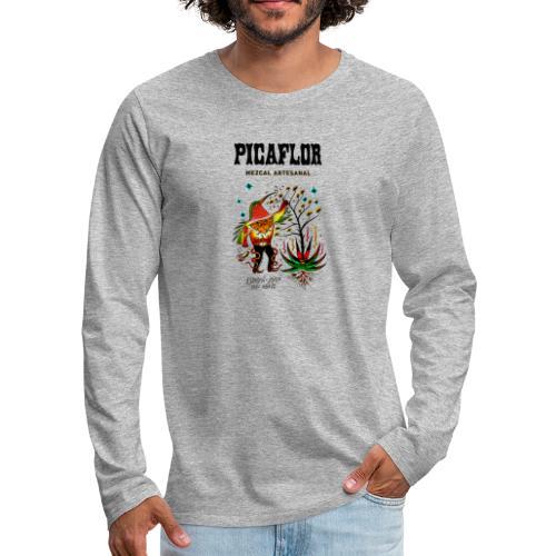 picaflormezcal - Premium langermet T-skjorte for menn