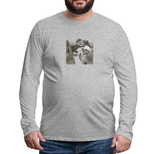 Travel - Camiseta de manga larga premium hombre