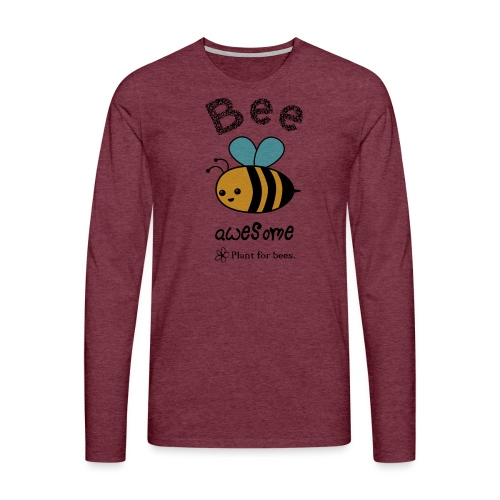 Bees2 - Protect the bees - Men's Premium Longsleeve Shirt