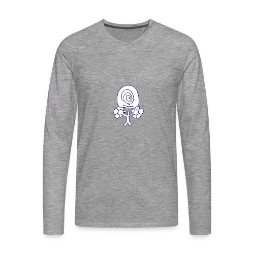 Poppetje 1 oog - Mannen Premium shirt met lange mouwen