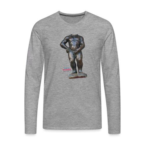 mannekenpis Real Big ♀♂ | 撒尿小童 - T-shirt manches longues Premium Homme