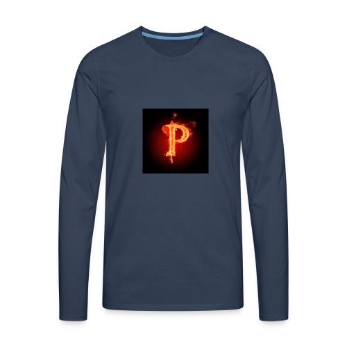 Power player nuovo logo - Maglietta Premium a manica lunga da uomo