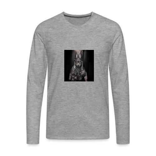 hund - Männer Premium Langarmshirt