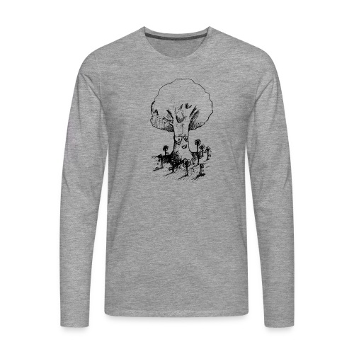 Sage Tree - Men's Premium Longsleeve Shirt