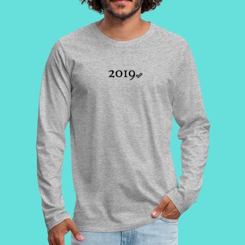 Valide 2019 - T-shirt manches longues Premium Homme
