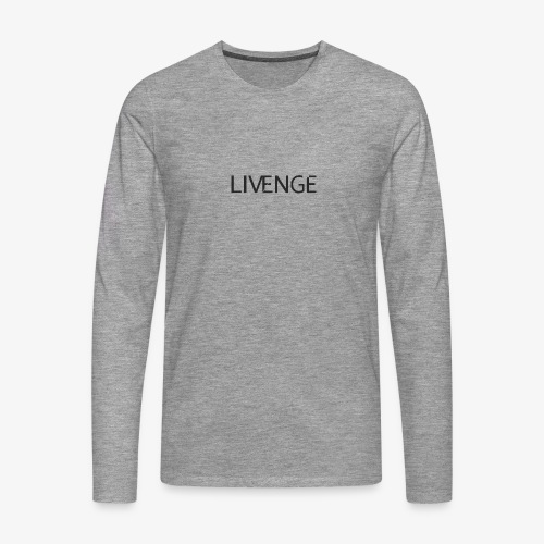 Livenge - Mannen Premium shirt met lange mouwen