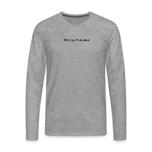 DieL - Herre premium T-shirt med lange ærmer