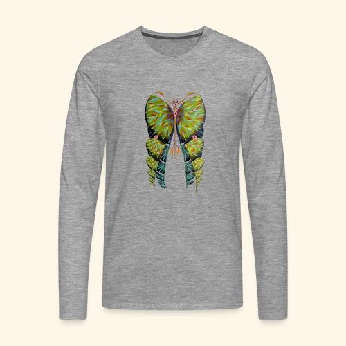 Fibonacci butterfly - Maglietta Premium a manica lunga da uomo