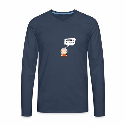 Le Vieux Bourré - T-shirt manches longues Premium Homme