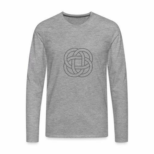 SIMBOLO CELTA SIN FONDO 1 - Camiseta de manga larga premium hombre