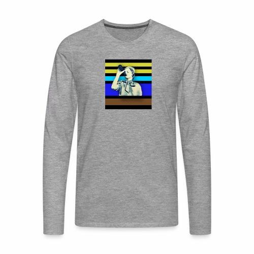 NSB Stefan 53 - Männer Premium Langarmshirt